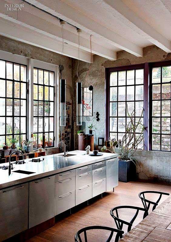 Décoration industrielle Pinterest Interior Design