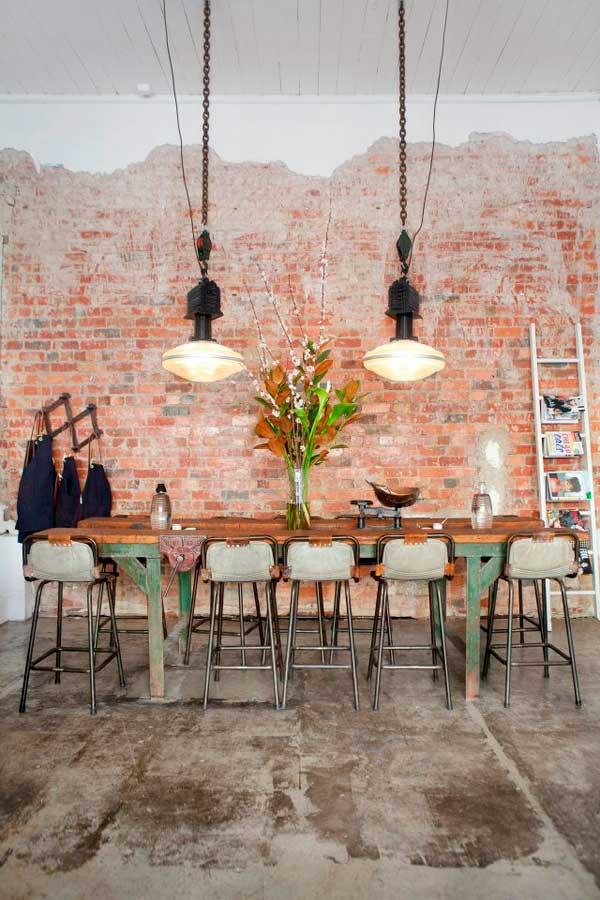 Décoration industrielle Pinterest Les fichiers de style (photo © Lilli Waters)