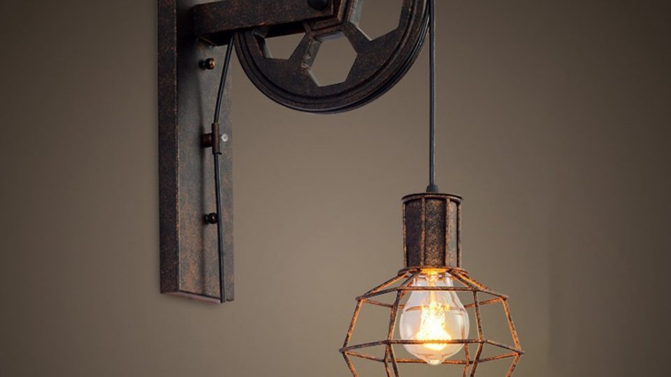 Lampe industrielle suspension