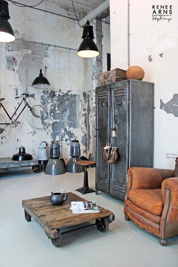 clés pour décorer la vie de style industriel