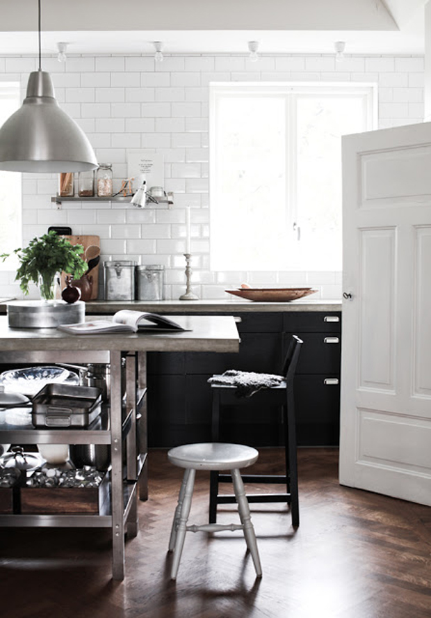 clés pour décorer une cuisine de style industriel