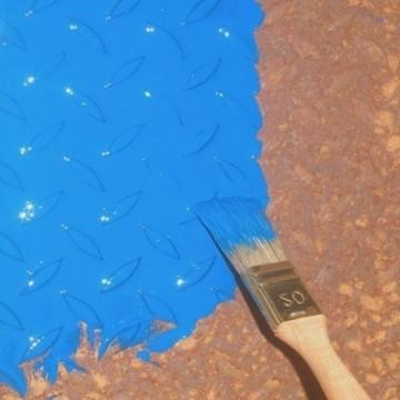 Peindre directement sur la rouille